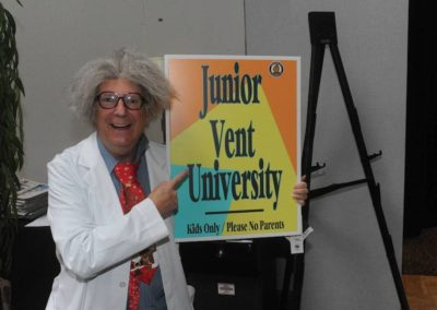 Al Moessinger is ready for Junior Vent University