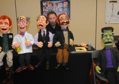 Barry Gordemer of Handemonium Puppets