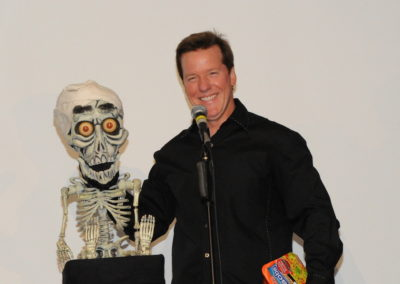 Jeff & Achmed keeping it funny.