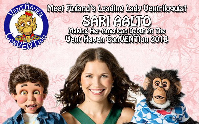 Meet Finland's Leading Lady Vent … Only At VHC 2018!