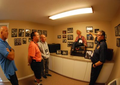 Al Getler shares memories of Bob Isaacson at Bob's Special Exhibit at Vent Haven Museum