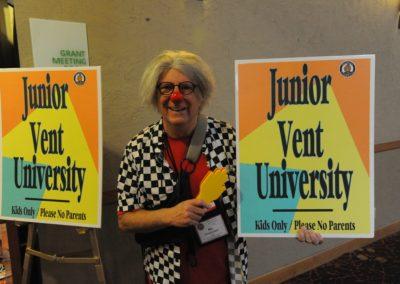 Allo and the Junior Vent University