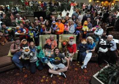 Axtell Puppets group