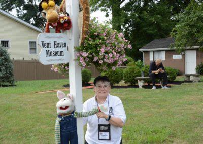 Barb Phoenix and friends visit Vent Haven Museum