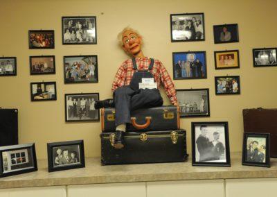 Bob Isaacson Special Exhibit at Vent Haven Museum