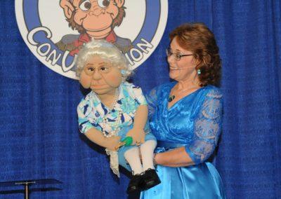 Lisa Laird and Grandma Dory on the Wednesday Show