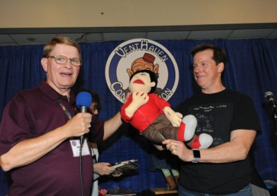 More Raffle antics with Mark Wade and Jeff Dunham