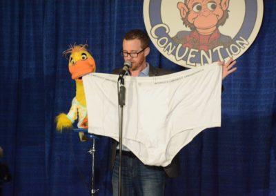 That is some big underwear, John McLennan