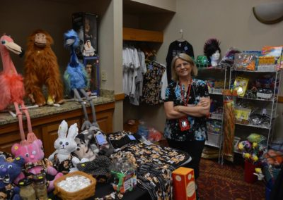 Dianne Dunbar in the Dealers' Room