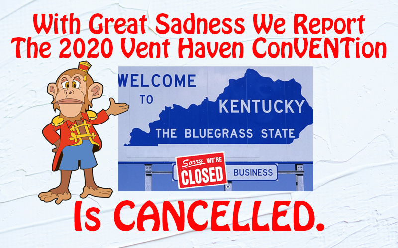 ConVENTion Cancelled